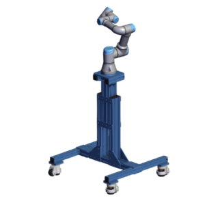 Mobile Light telescopic stand for Universal Robots