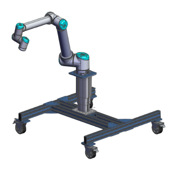Robot Stand UR10 with Variable Height