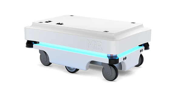 MiR 100 Automated Guided Vehicle Mobile Industrial Robots